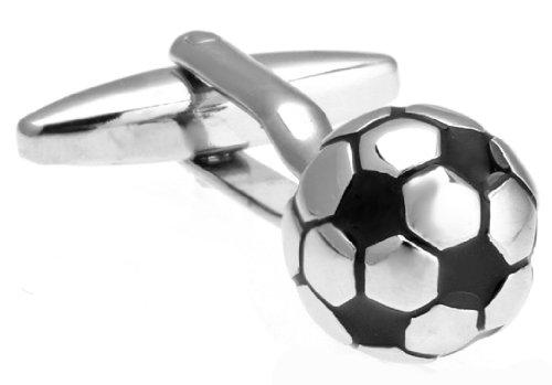 Soccer ball 3D cufflinks gift ideas for soccer fans