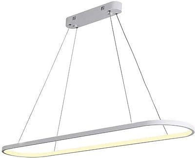Giow Lámpara Colgante LED Regulable Lámpara de Mesa de Comedor ...