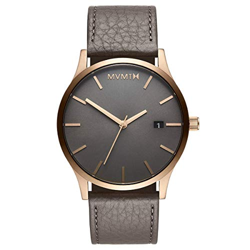 MVMT Classic Watches | 45 MM Men's Analog Minimalist Watch | Bronze Age