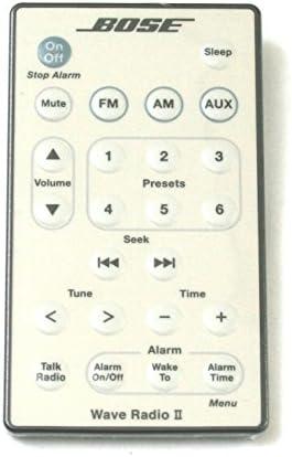 Bose Wave Radio II Remote Control White product image