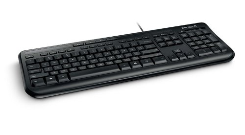 Microsoft 600 Tastatur (Englisch, USB, Microsoft Xbox 360) schwarz
