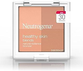 Neutrogena Healthy Skin Blends Powder Blush Makeup Palette, Illuminating Pigmented Blush with Vitamin C & Botanical Condit...