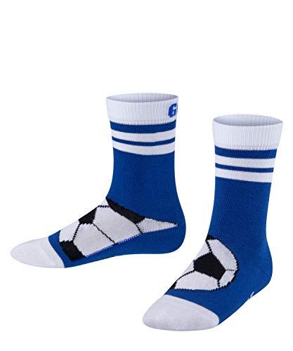 FALKE Unisex Kinder Active Soccer Socken, blau (cobalt blue 6054), 35-38