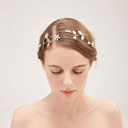 Handgemachte Braut Kopfschmuck, Kristall Haarband, einfache Hochzeit Zubehör, Leistungen an Arbeitnehmer, Hochzeit, Reise Gedenken