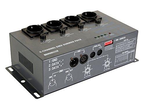 VELLEMAN - VDPDP152 4-kanal-dmx-dimmer pack (4 x 5A) 146878