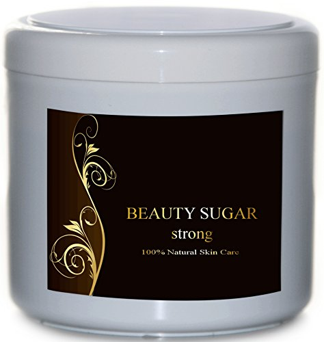 Sugaring Testsieger 2020 Beauty Sugar strong 500g Made in Germany Zuckerpaste zur Haarentfernung