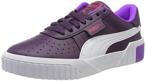 PUMA Cali Chase Wns, Zapatillas Deportivas para Mujer, Plum Purple-Nrgy Rose, 38 EU