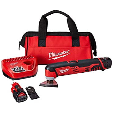 Milwaukee 2426-22 M-12 Oscillating Tool Kit, 12-V