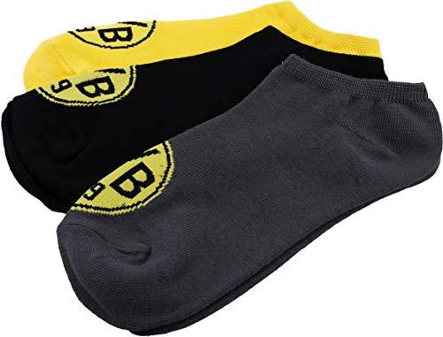 Borussia Dortmund BVB Socken 3er-Set, Gr. 35-38