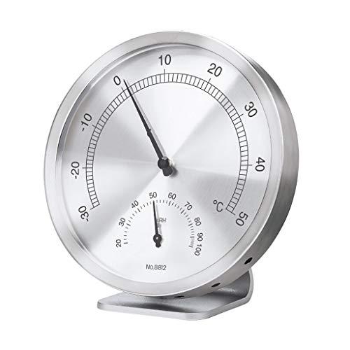 WPL Thermomètre Thermomètre intérieur Bureau Accueil Température et Compteur d'humidité Disque Grande température ambiante bébé et Compteur d'humidité Higrómetro