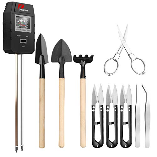Pancellent Soil Test Kit con 9PCS Strumenti per...