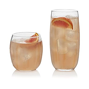 Libbey Samba 16-piece Drinkware Glass Set