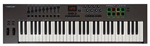 Nektar Impact LX61 + USB-MIDI-controller keyboard met DAW-integratie