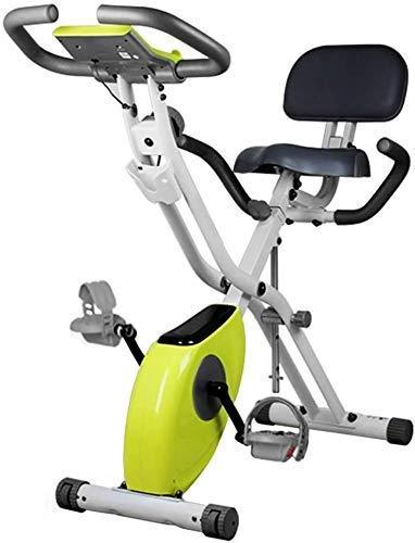 Runningmachine1121 Fitness Ejercicio Bicicletas Estacionarias Cómodas Cojín de Asiento Interior Ciclismo Bicicleta Spinning Bike Con Tablet Holder Spinning Removible y Coloreable Diseño Estable y Cómo