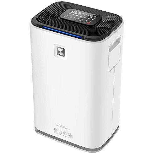 Dehumidifier for Home Bedroom Bathroom Basement 70 Pint Dehumidifier And Air Purifier Combo,Intelligent Touch Control Digital Humidity Display,Sleep Mode,Continuous Drainage,Ideal For Damp And Condens
