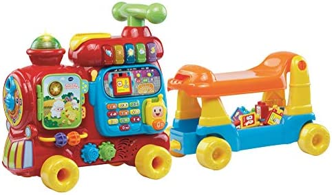 VTech Push and Ride Alphabet Train Educational Toys Baby Interactive Toy with Musical Features product image