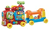 VTech Push and Ride Alphabet Train, Educational Toys, Baby Interactive Toy with Musical Features, Ideal Gift...