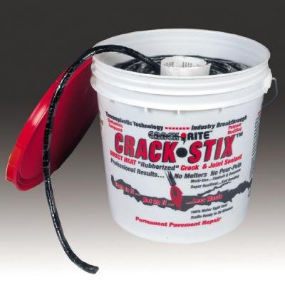"powerful Crack StixTM 125 FT. Medium 1/2 ""Permanent Asphalt Crack Filler-2050"