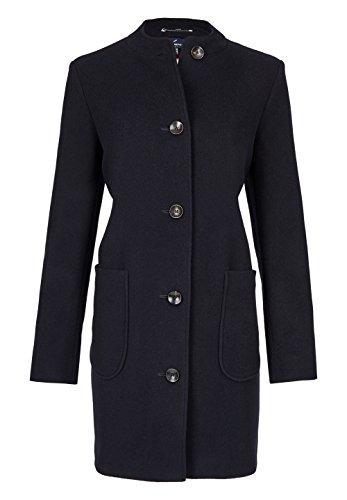 Daniel Hechter Damen Wool Coat Mantel, Blau (Midnight Blue 690), 40