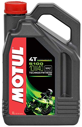 avis huile moteur moto professionnel Motul 1040685100 4T 10W-40, 4 CV