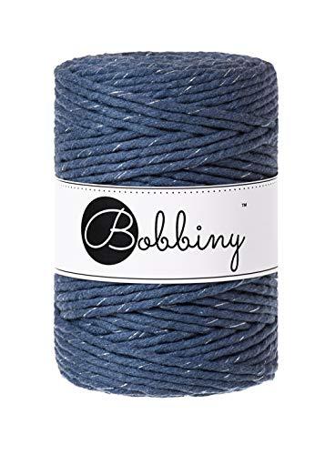 Bobbiny Macrame Cords 5 mm – 100 m (Silverly Jeans)