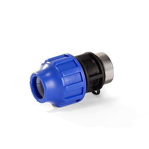 H2O-Flex PP-Fitting, Klemmverbinder - 32er PE Adapter mit 1