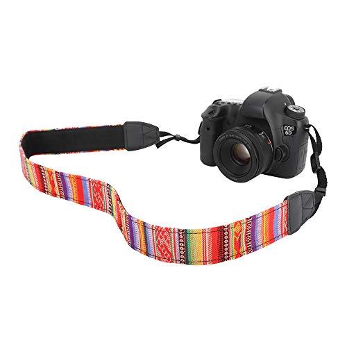 MoKo Tracolla Fotocamere Universali Compatibile con Fuji, Olympus, Panasonic, Pentax, Sony in Cottone Canvas Resistenza 10Kg,Cinturino Regolabile, Cin
