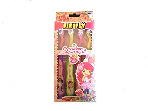 Strawberry Shortcake Suction Cup Toothbrush - 4 count by Dr. Fresh