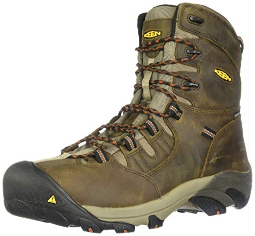 KEEN Utility Men's Detroit 8' Steel Toe Work Boot,Black...