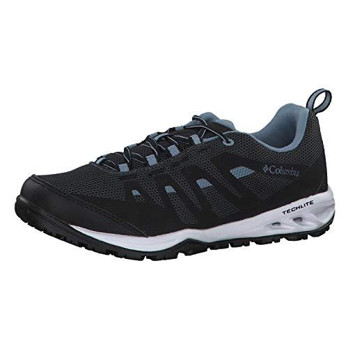 Columbia Vapor Vent, Zapatillas de Senderismo Mujer, Black (Black, Dark Mirage 010), 38 EU