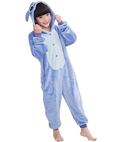 Yimidear Niños y Niñas Encantador Suave y Cómodo Franela Versión de Historieta Animal Común Chándal Pijamas