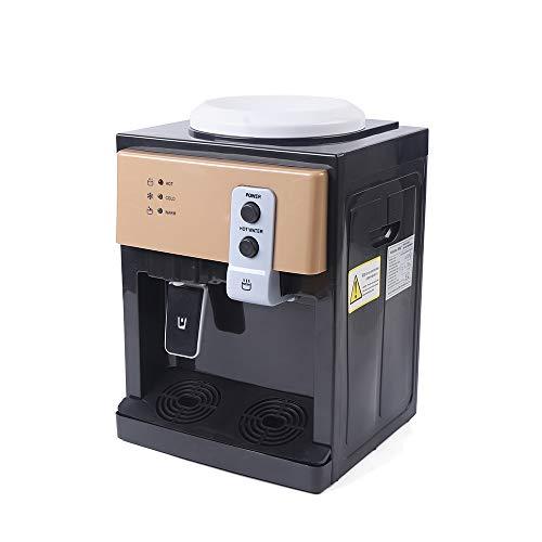 Elektrischer Warmwasserspender 220V mit Eiswärmefunktion, Schwarz, 60 * 240 * 270 mm, automatische Temperaturregelung, einfach zu bedienen