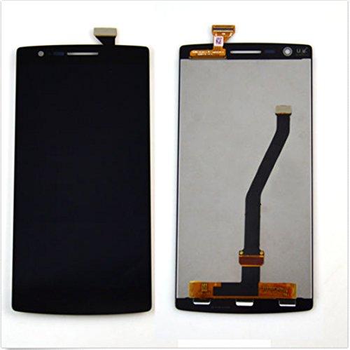 OEM Oneplus One 1 A0001 Display im Komplettset LCD Ersatz Für Touchscreen Glas Reparatur Retina Bildschirm Netzhaut (Schwarz)