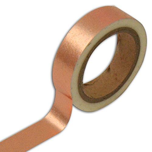 Unbekannt Toga MT128 Deko-Klebeband/Washi-Tape, Kupfer, 4x 8,5x 4cm