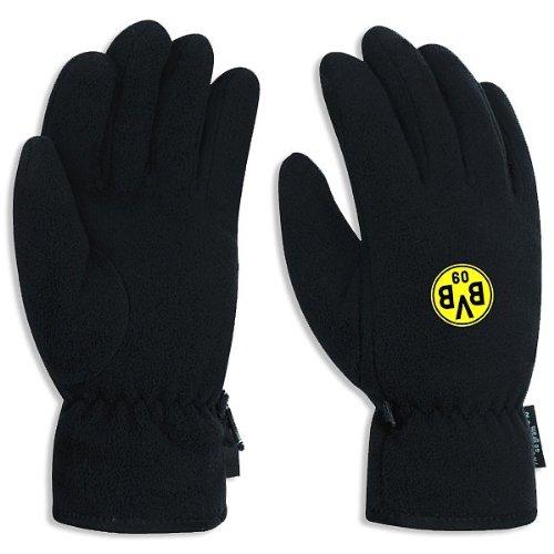 BVB 09 Borussia Dortmund Fleece handschoenen zwart met embleem maat XL handschoenen 11270000