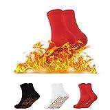 Self-Heating Socks,Hiking Heated Socks,Massage Warm and Cold-Resistant Cotton Socks,Comfortable Breathable Massage Anti-Freezing Winter Warm Foot Socks Outdoor Skiing Camping Running Fishing