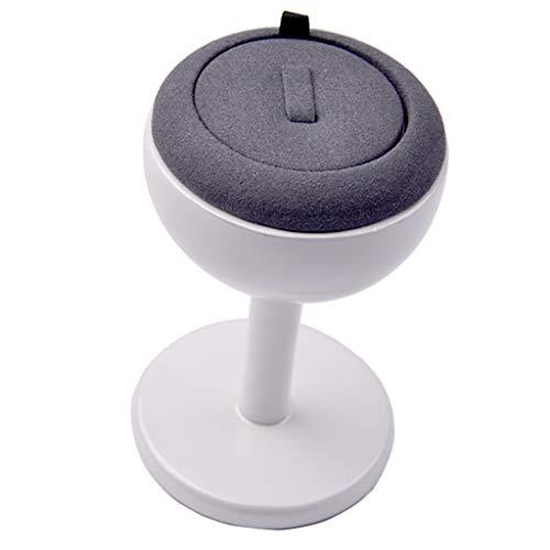 Bonarty Hölzerne Runde Riser Für Display Schmuck Und Zubehör Display Stand (Ohrringe Ring Und Schmuck Set Organizer) - Typ 1