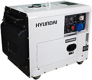Generador Diesel Insonorizado (Monofásico) - HYUNDAI HY-DHY8500SE