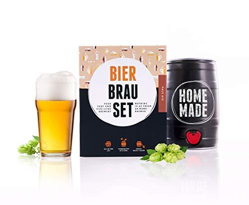 Braufässchen Bierbrauset Basic Pale Ale | Bierbrauset zum selber Brauen | Leckeres Bier In 7 Tagen gebraut | Perfektes Männergeschenk
