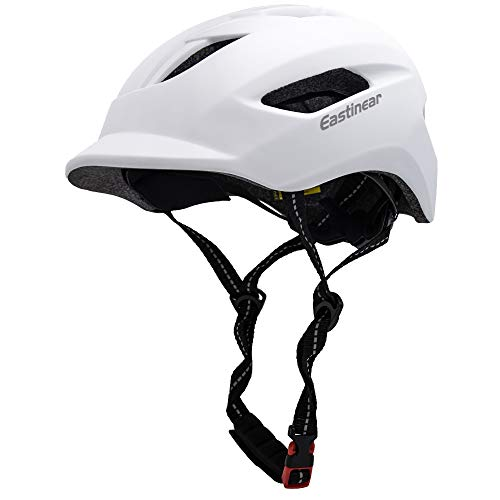 EASTINEAR Casco Bicicleta Adulto para Hombre Mujere con Luz Trasera LED Casco...