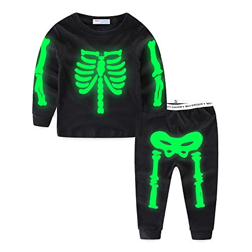 Mud Kingdom Glow Halloween Skeleton…