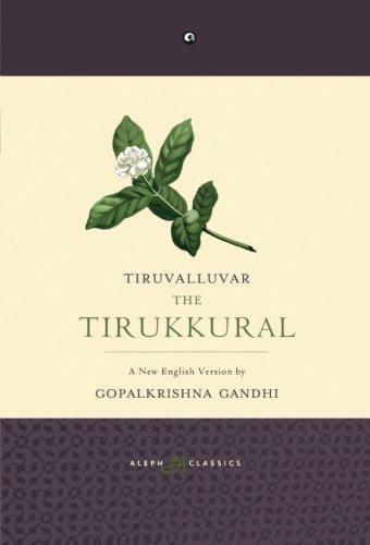 The Tirukkural: A New English Version