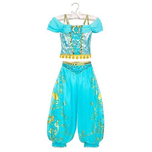 Disney Disfraz de jazmn nios, Multicolor, XL