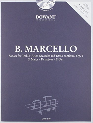 Marcello: Sonata in F Major, Op. 2 for Treble (Alto) Recorder and Basso Continuo