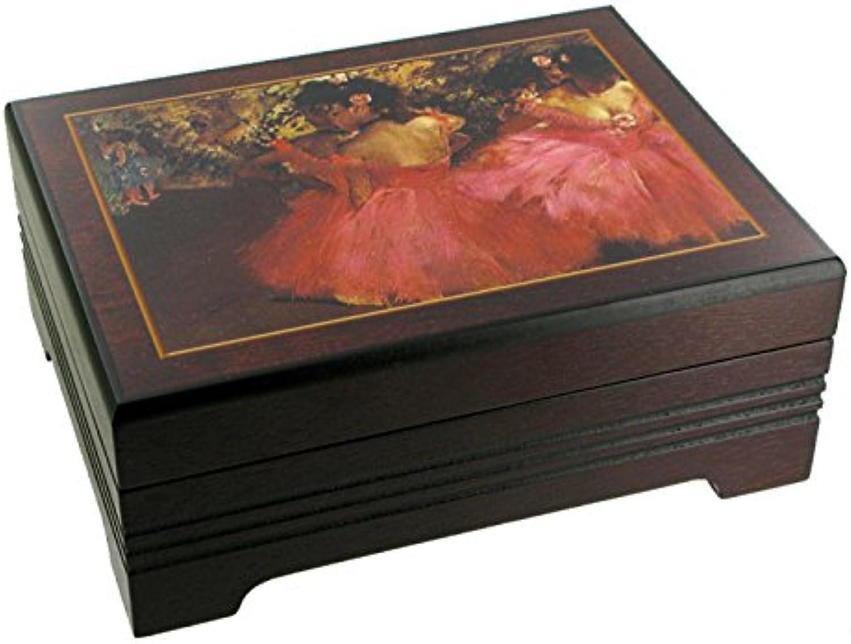 Spieluhr   Spieldose   Musikdose   Schmuckdose   Schmuckkstchen   Schmuckschatulle mit Spieluhr aus Holz mit Fotodruck - Schwanensee (P. I. Tchakowski)
