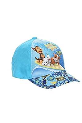 Ryfi Paw Patrol Dogs Chase, Marshall and Rubble Gorra Catch The Waves Pups, Gorra de béisbol, Gorra Infantil (Azul) de