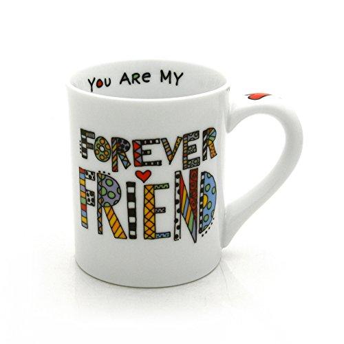 "Our Name is Mud ""Forever Friend"" Cuppa Doodle Porcelain Mug, 16 oz. Georgia"