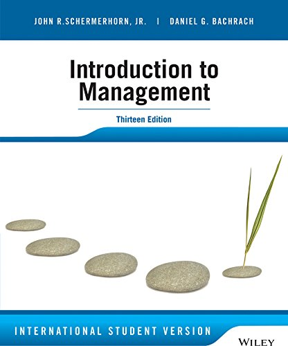 Schermerhorn, J: Introduction to Management
