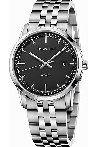 Calvin Klein Reloj Analógico para Hombre de Automático con Correa en Acero Inoxidable K5S3414Y