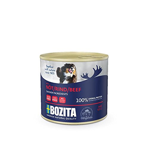 Bozita Dog Pate Rind   12x 625g Hunde Nassfutter